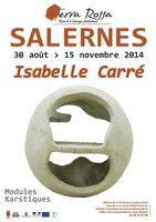 Jusqu'au 15 novembre 2014 | le musée Terra Rossa reçoit Isabelle Carré | Salernes (83)