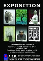 du 11 au 15 octobre, exposition Artists In Residence