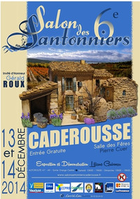 foire aux santons | 6ème salon des santonniers à Caderousse (84) | les 13 et 14 décembre 2014