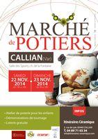 les 22 et 23 novembre 2014 | Marché de potiers de Callian (83)