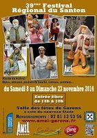 du 8 au 23 novembre 2014, Festival du santon à Garons (30)