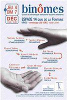 Exposition céramique | Binômes, Espace 14 à Nîmes du 4 au 7 décembre 2014