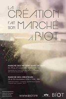 créations marché à Biot artistes et artisans d'art les 29 et 30 novembre 2014