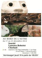 Exposition Sourski céramique à Aix en Provence | Au bord de l'autre | du 17 au 23 décembre 2014