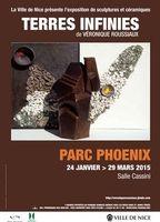 Exposition Terres infinies à Nice (06) | Céramique Véronique Roussiaux | jusqu'au 29 mars 2015
