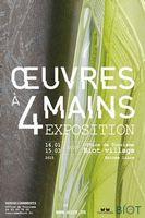 Oeuvres à 4 mains | Expo à Biot (Alpes Maritimes) | jusqu' au 19 avril 2015