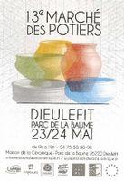 Marché potier de Dieulefit (Drôme) |70 céramistes et potiers et tout le village à l'oeuvre les 23 et 24 mai 2015