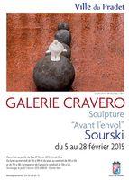 Exposition céramique Sourski au Pradet (Var) | Avant l'envol | Jusqu'au 28 février 2015
