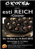 Exposition céramique Esti Reich, Galerie Ck'omsa à Vallauris | du 14 mars au 14 avril 2015
