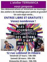 Découvrez l'atelier Terramica à Toulon (Var) lors des Journées Européennes des Métiers d'Art | les 28 et 29 mars 2015