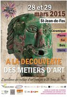 A la découverte des métiers d'Art | Argileum Saint Jean de Fos | Hérault | les 28 et 29 mars 2015