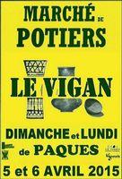 Marché potier Le Vigan (Gard) | les 5 et 6 avril 2015