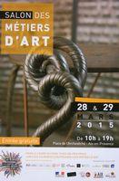 Salon des métiers d'art à Aix en Provence (Bouches du Rhône) | les 28 et 29 mars 2015