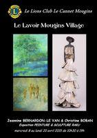 Exposition sculpture raku au Lavoir de Mougins (Alpes Maritimes) | céramique et peinture du 8 au 20 avril 2015