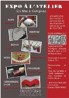Expo à l'Atelier, métiers d'art à Cotignac | Ceramosa animation raku les samedis de mai 2015