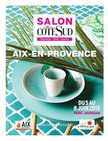 Salon Vivre Côté Sud à Aix en provence du 5 au 8 juin 2015 | Métiers d'art, déco et art de vivre au Parc Jourdan