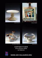 Exposition céramique Artistes en résidence à Vallauris | Vernissage au Cabanon samedi 25 avril 2015