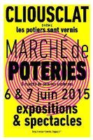 Marché de poteries et de poteries anciennes à Cliousclat (Drôme) les 6 et 7 juin 2015
