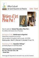 Les métiers d'art à l'honneur à Saint Quentin la Poterie (Uzès-Gard) | L'Accordéon Plein Pot du 4 au 17 mai 2015