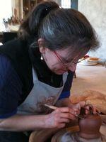 Stages de poterie, tournage-modelage-sculpture, à l'atelier TERRAMICA de Toulon