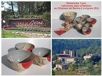 Exposition Vente au Chateau de Berne le 7 juin 2015 | Lorgue (Var)