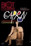 Exposition les Caprons, Générations Céramique | Biot (Alpes maritimes) jusqu'au 20 septembre 2015