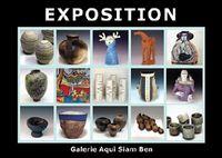 Exposition céramique Artists In Residence Vallauris | Galerie Aqui Siam Ben du 13 au 17 juin 2015