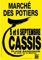 Marché potier de Cassis (13) les 5 et 6 septembre 2015