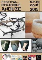 Festival de la céramique d'Anduze (Gard), les 8, 9 et 10 août 2015