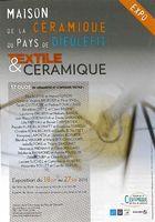 Exposition Duos Textile et céramique | Maison de la céramique du Pays de Dieulefit, du 18 juillet au 27 septembre 2015