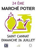 Marché potier de Saint-Cannat le dimanche 26 juillet 2015 - Bouches du Rhône, céramique, poterie culinaire et décorative, sculptures, bijoux...