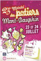 Marché potier de Mont-Dauphin jeudi 23 et vendredi 24 juillet 2015 - Hautes Alpes, céramique, poterie culinaire et décorative, sculpture, bijoux...