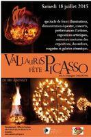 Vallauris fête Picasso le samedi 18 juillet | Soirée nocturne pour les arts céramiques, spectacles | Alpes Maritimes