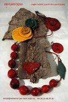 Stages céramique, création de bijoux à Entrevennes (Alpes de Haute Provence) avec Gudrun Schirmer