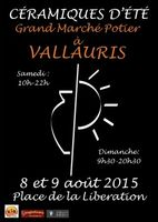 Céramiques d'été, fête de la céramique et grand marché potierà Vallauris (Alpes Maritimes) samedi 8 et dimanche 9 août 2015