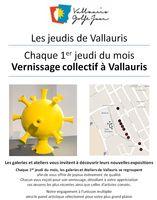Les Jeudis de Vallauris | Vernissage collectif des ateliers et galeries le 1er jeudi du mois | 6 août 2015