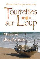 Marché potier de Tourrettes sur Loup le dimanche 6 septembre 2015 - Alpes Maritimes
