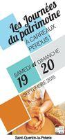 A carreaux perdus | Journées du Patrimoins à St Quentin la Poterie (Gard) | les 19 et 20 septembre 2015