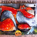 Stage Pièces murales du 19 au 24 octobre 2015 au Vallauris Institut of Arts (Alpes Maritimes)