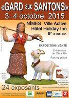 Foire aux santons à Nîmes les 3 et 4 octobre 2015 | Gard aux santons à l'hôtel Holiday Inn