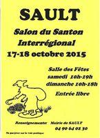 Foire aux santons, Salon du santon interrégional de Sault en Vaucluse les 17 et 18 octobre 2015
