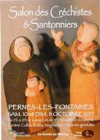 Foire aux santons et crèches | Salon des créchistes et santonniers, Pernes les Fontaines en Vaucluse 10-11 octobre 2015