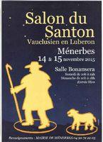 Salon du santon vauclusien en Lubéron à Ménerbes les 14 et 15 novembre 2015