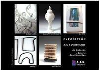 Artistes en Résidence, AIR Vallauris | Exposition du 3 au 7 octobre 2015, Galerie Aqui Siam Ben