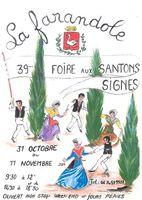 Foire aux santons à Signes (Var) du 31 octobre au 11 novembre 2015 - santons et crèches de Noël