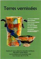 Terres vernissées, expo à la Galerie d'1 jour de Moustiers Sainte-Marie (Alpes de Haute Provence), du 10 octobre au 8 novembre 2015