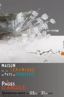 Pages d'argile - Exposition vente de céramique à Dieulefit du 3 novembre au 31 décembre 2015 - Maison de la céramique du Pays de Dieulefit