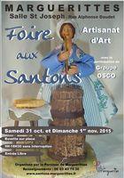 Foire aux santons à Marguerittes (Gard), les 31 octobre et 1er novembre 2015