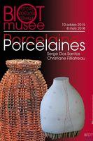 Porcelaine, Porcelaines | Exposition au musée de Biot (Alpes Maritimes) jusqu'au 16 mars 2016