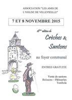 Foire aux santons de Villevieille (Gard), les 7 et 8 novembre 2015 - crèches et santons de Noël
